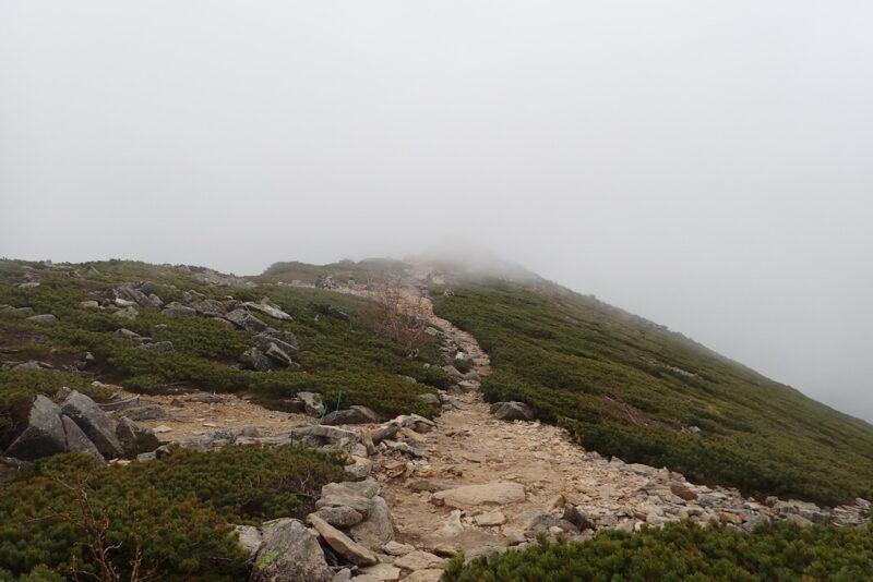 金峰山近く