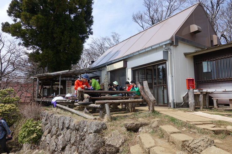 丹沢・大山の山頂(売店)