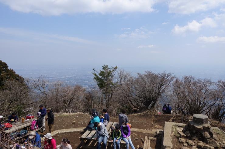丹沢・大山の山頂(景色)