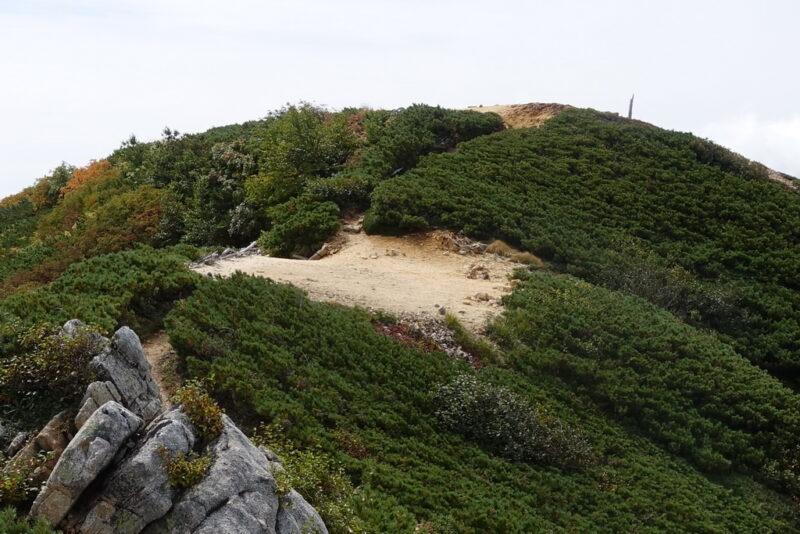 ヒュッテ西岳のテント場
