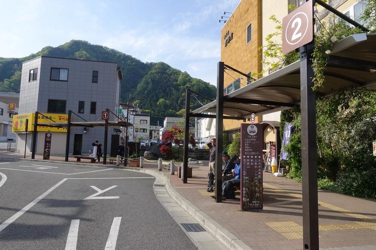 大月駅バス停