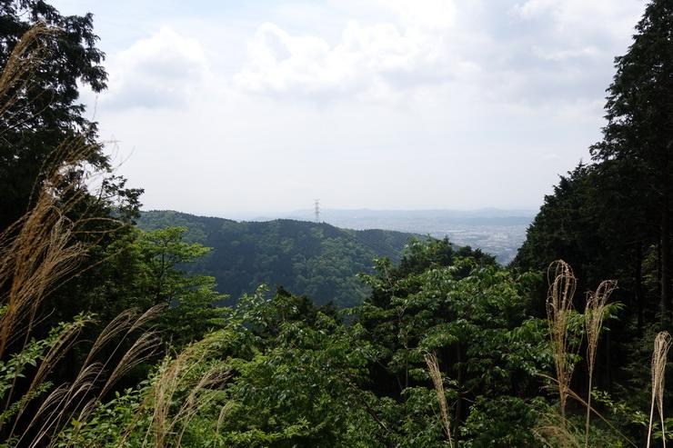 丹沢・見晴茶屋からの景色