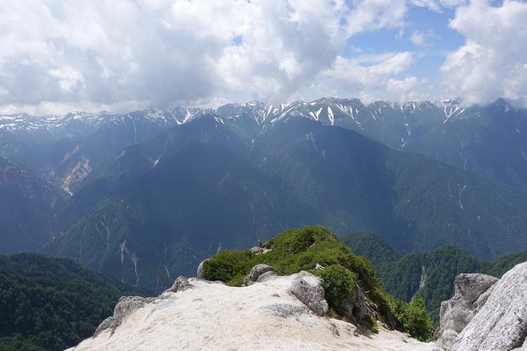 北燕岳からの展望