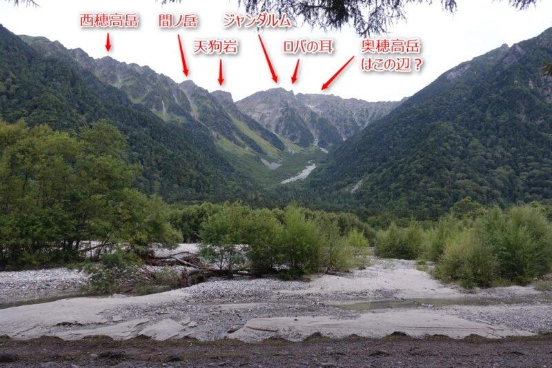 小梨平キャンプ場からの景色