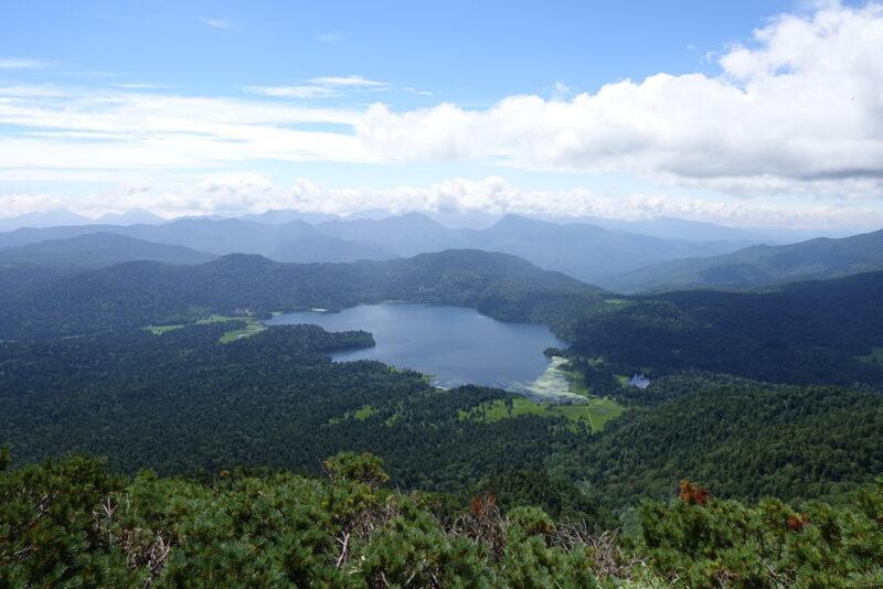 ミノブチ岳から見た尾瀬沼