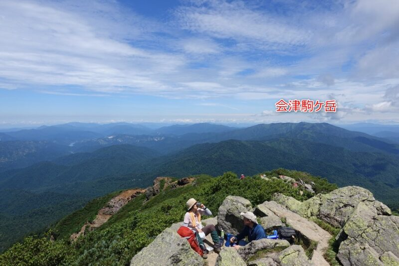 俎嵓の北川の景色~会津駒ケ岳
