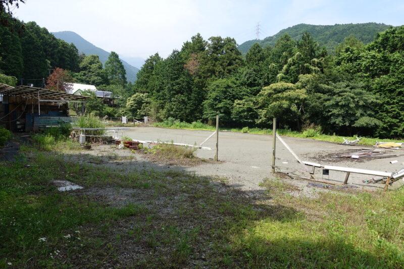 丹沢乗馬クラブ跡地(2017年7月撮影)