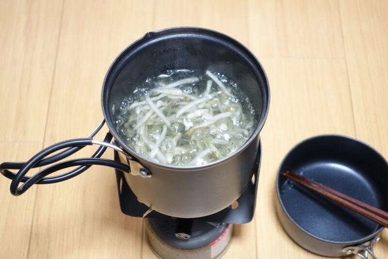 ゴ棒ラーメンの作り方②