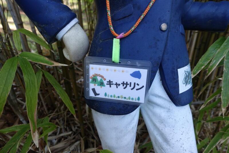 丹沢キャサリンの新しい名札