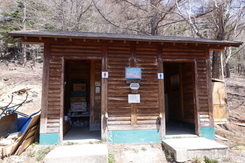 富士見平小屋・トイレ