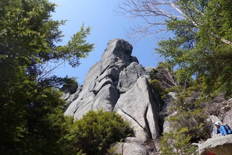 瑞牆山~オオヤスリ岩
