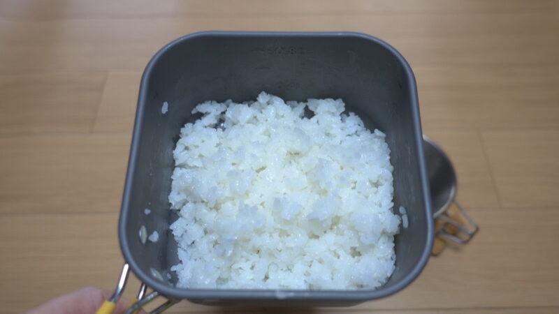 アルファ米のおいしい作り方~出来上がり!