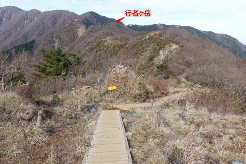 烏尾山~行者岳