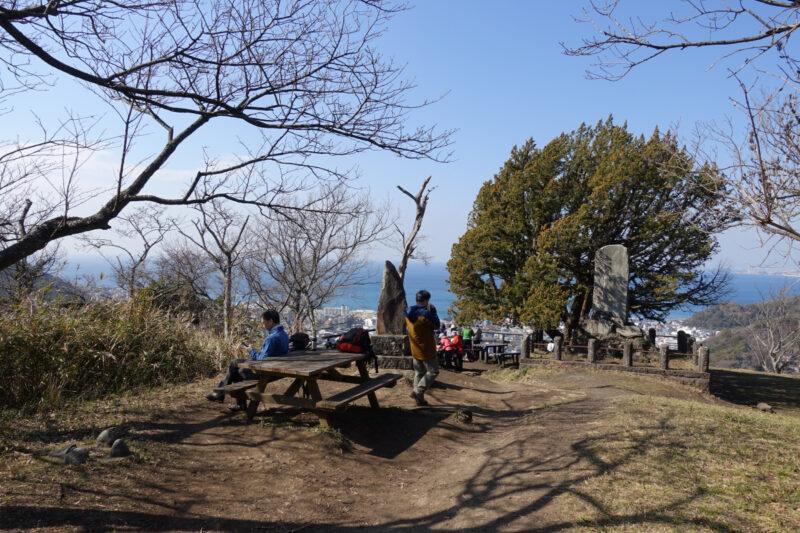 仙元山の山頂