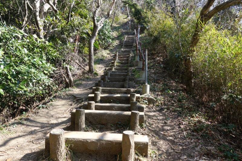 仙元山~南尾根の250階段