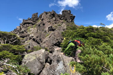 三ツ岳3峰