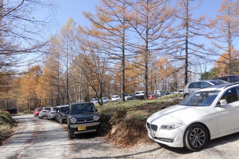 桜平駐車場(中)