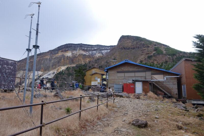 夏沢峠と硫黄岳