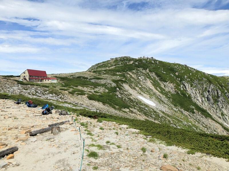 中岳と天狗荘