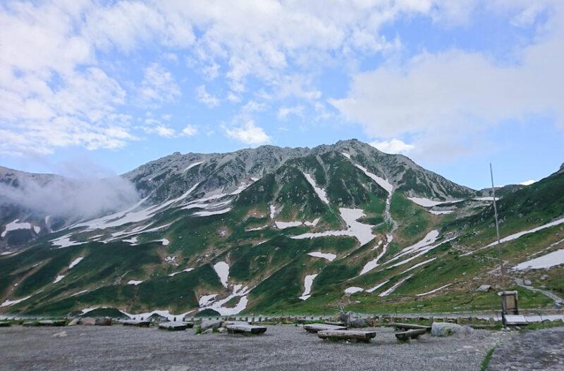 室堂平付近から見た立山