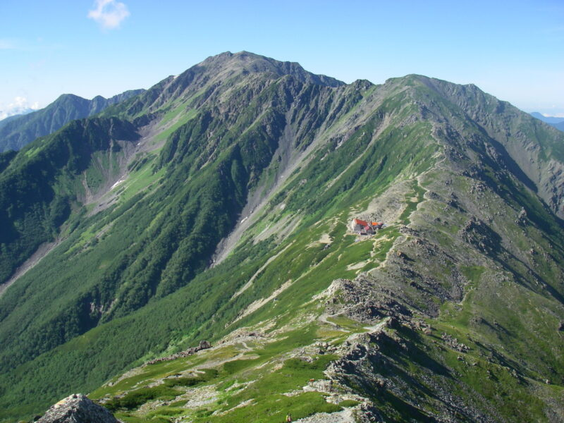 南アルプス・中白根山~間ノ岳