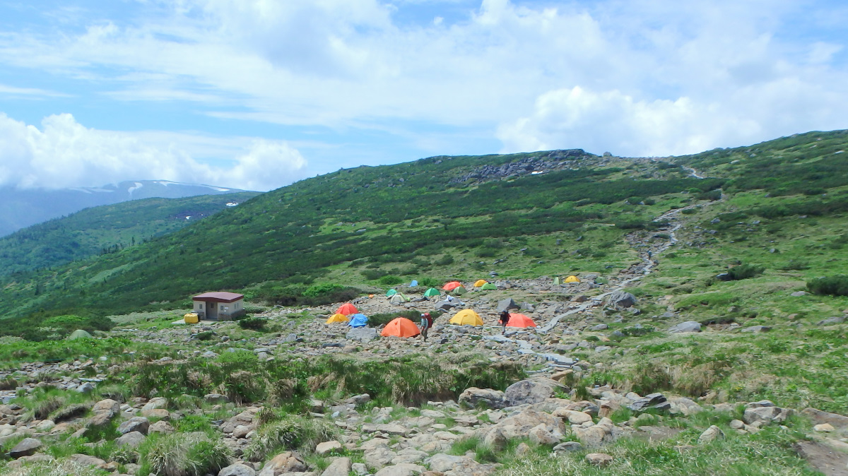 雲ノ平キャンプ