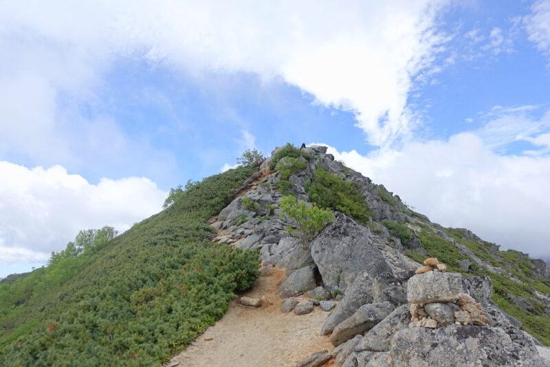 鳳凰三山・観音岳
