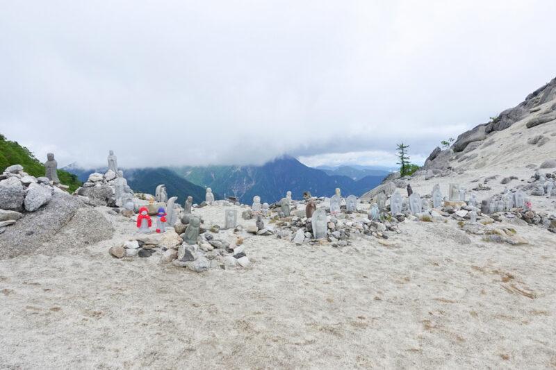 地蔵岳~賽ノ河原